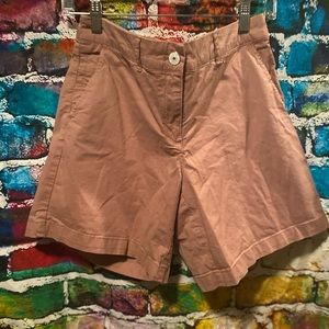 Katherine Barclays outdoor Salmon pink shorts